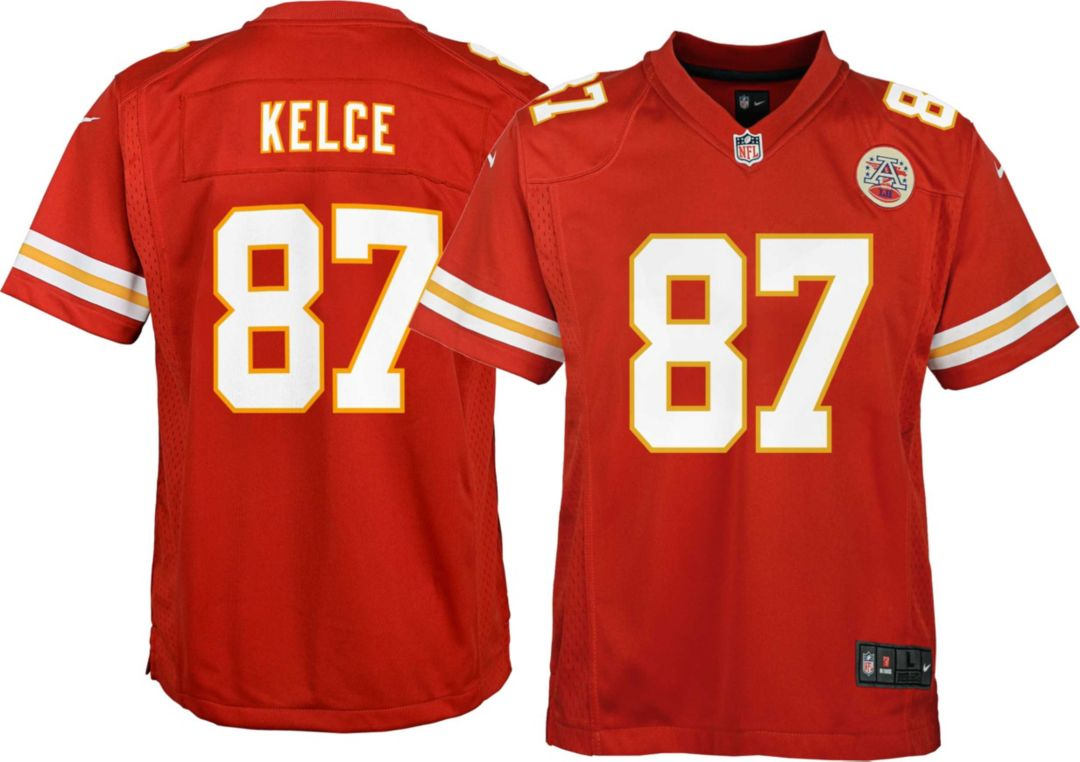 pretty nice 809bd 7d500 Nike Youth Home Game Jersey Kansas City Chiefs Travis Kelce #87