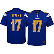 Nike Youth Color Rush Game Jersey Los Angeles Chargers Philip Rivers #17