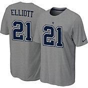 Nike Youth Dallas Cowboys Ezekiel Elliott #21 Pride Grey T-Shirt
