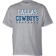 Dallas Cowboys Merchandising Youth Practice Grey T-Shirt