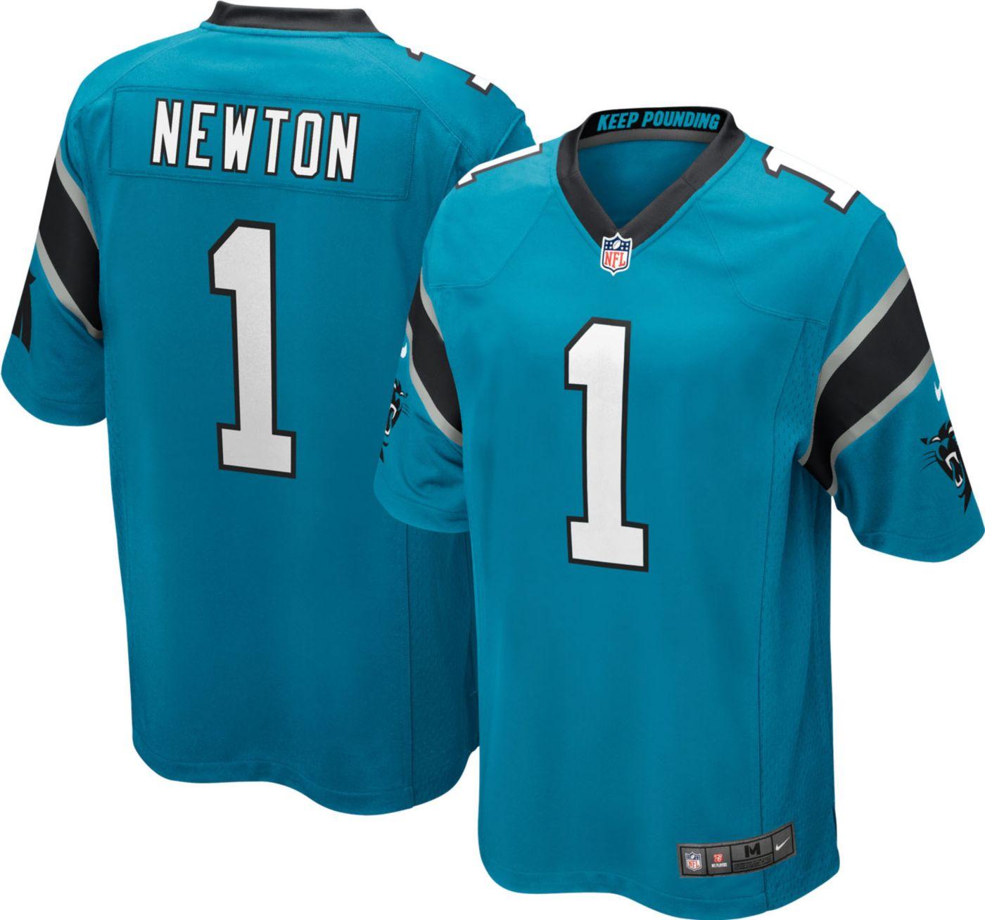 Nike Youth Alternate Game Jersey Carolina Panthers Cam Newton #1