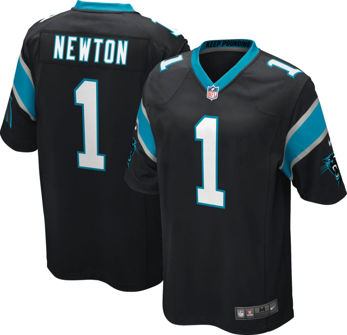 Nike Youth Home Game Jersey Carolina Panthers Cam Newton #1