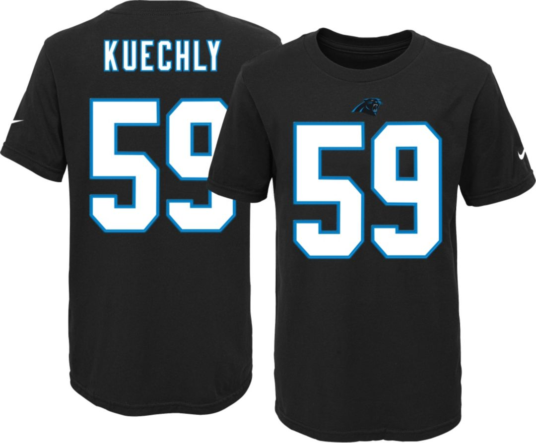low priced 4b998 a0e3d Nike Youth Carolina Panthers Luke Kuechly #59 Black T-Shirt