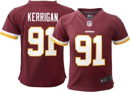 187aef33d36 Nike Boys' Home Game Jersey Washington Redskins Ryan Kerrigan #91