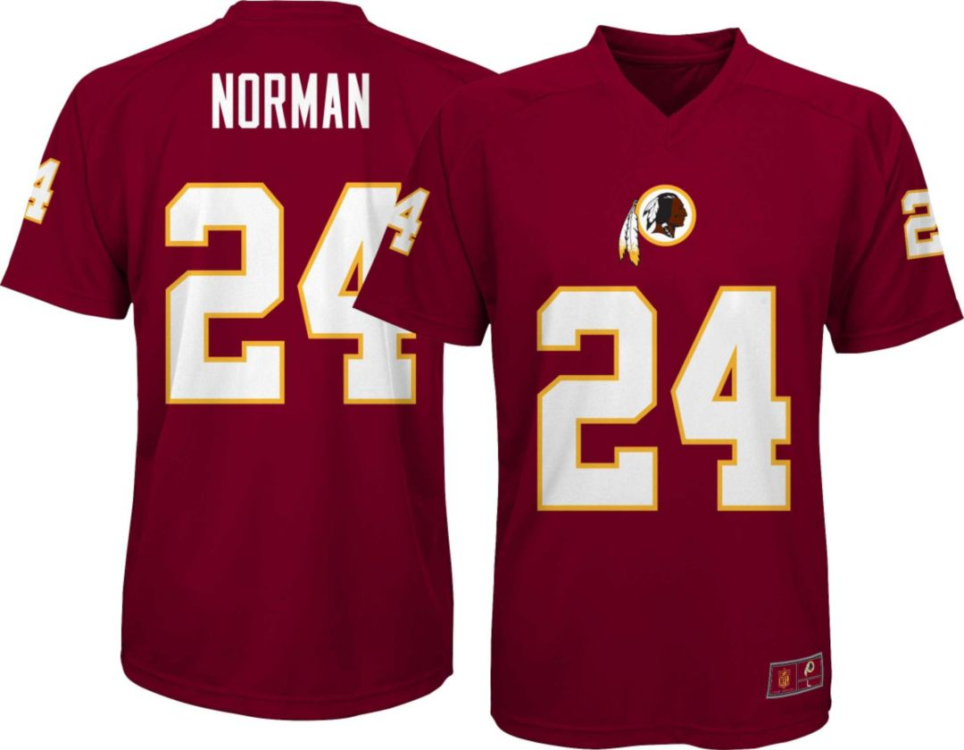 the latest c8c8c 18c9c NFL Team Apparel Youth Washington Redskins Josh Norman #24 Performance Red  T-Shirt