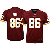 Nike Youth Home Game Jersey Washington Redskins Jordan Reed #86