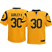 Nike Youth Color Rush Game Jersey Los Angeles Rams Todd Gurley #30