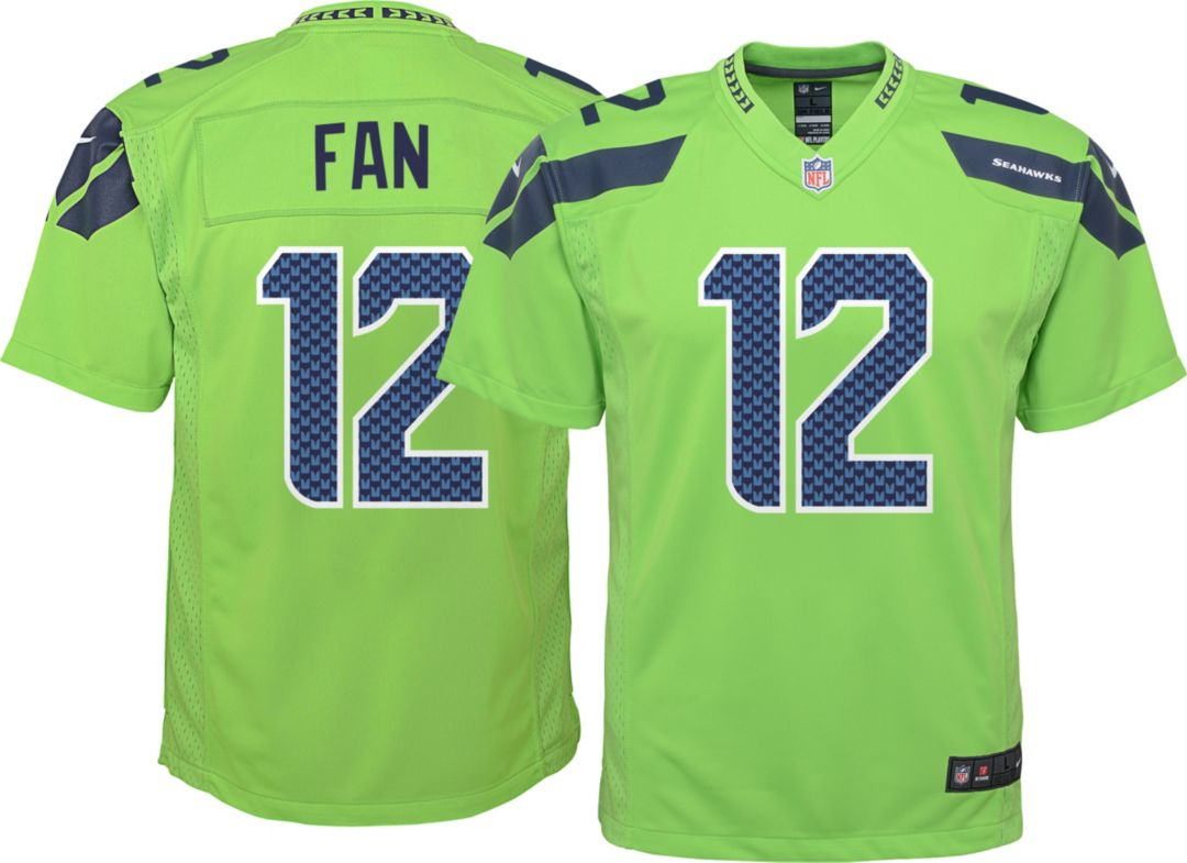 Nike Youth Color Rush Game Jersey Seattle Seahawks Fan 12