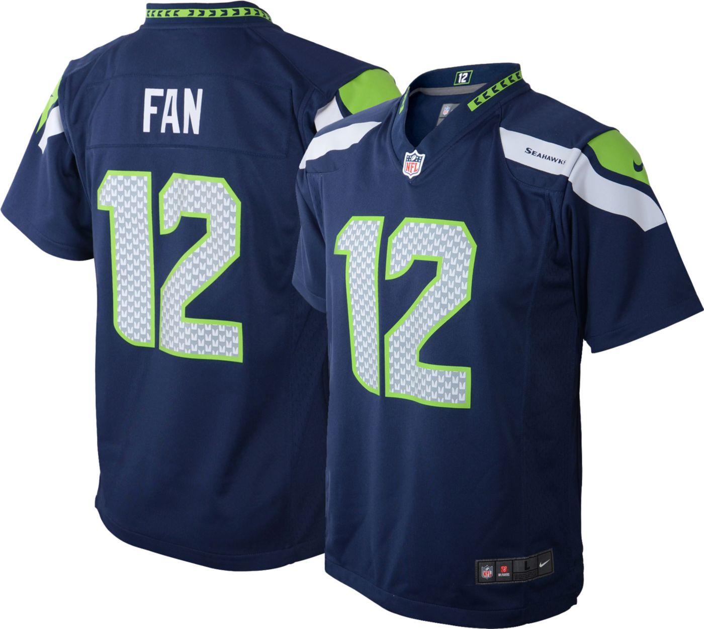 Nike Toddler Home Game Jersey Seattle Seahawks Fan #12