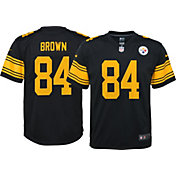 Nike Youth Color Rush Game Jersey Pittsburgh Steelers Antonio Brown #84