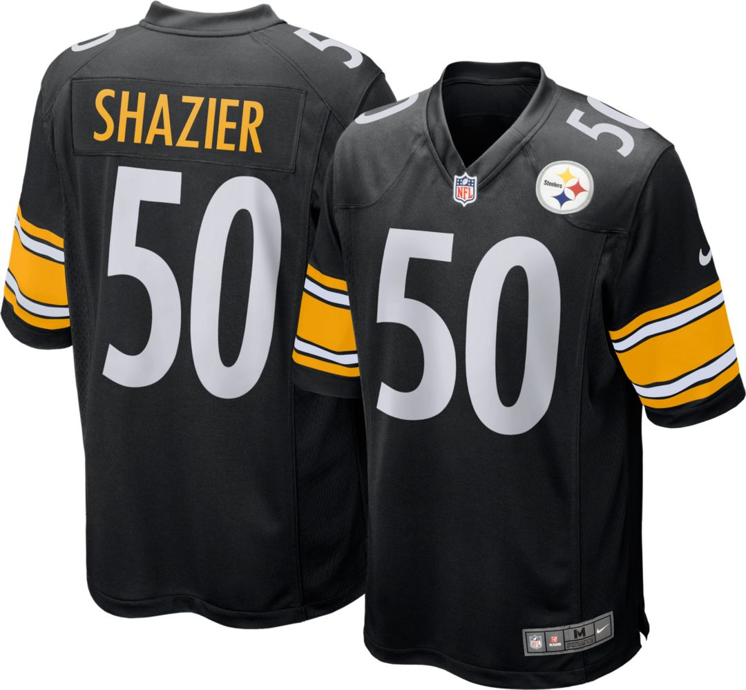 best cheap f3cf9 ee432 Nike Youth Home Game Jersey Pittsburgh Steelers Ryan Shazier #50