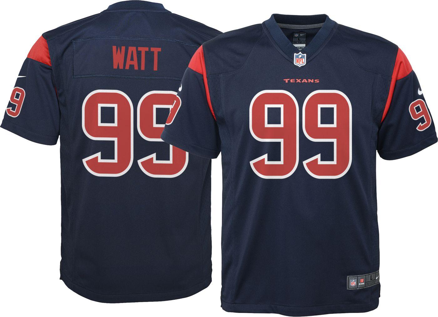 Nike Youth Color Rush Game Jersey Houston Texans J.J. Watt #99