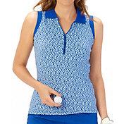 Nancy Lopez Women's Dream Sleeveless Golf Polo