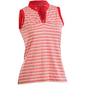 Nancy Lopez Women's Dizzy Sleeveless Golf Polo