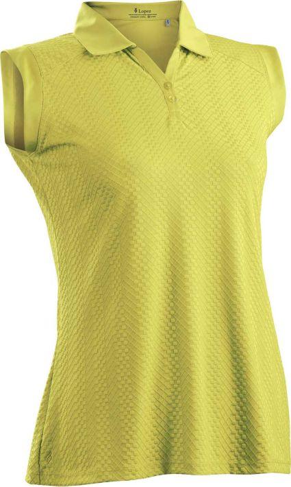 Nancy Lopez Women's Grace Sleeveless Polo – Extended Sizes