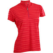 Nancy Lopez Women's Ripple Golf Polo – Plus-Size