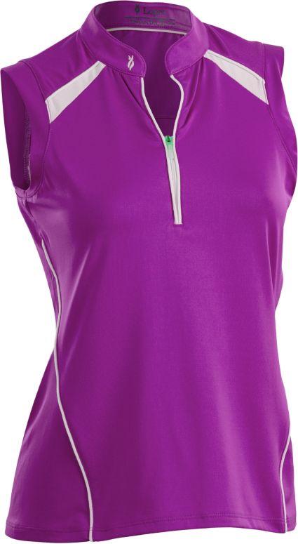 Nancy Lopez Women's Sporty Sleeveless Polo