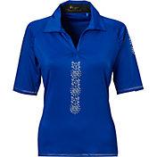 Nancy Lopez Women's Attract Golf Polo