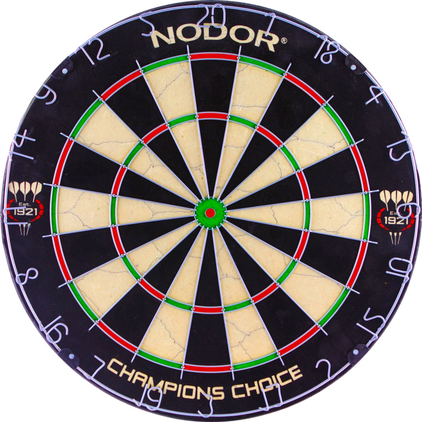 NODOR Champion's Choice Practice Bristle Dartboard