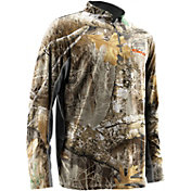 NOMAD Men's Quarter Zip Long Sleeve Hunting Shirt