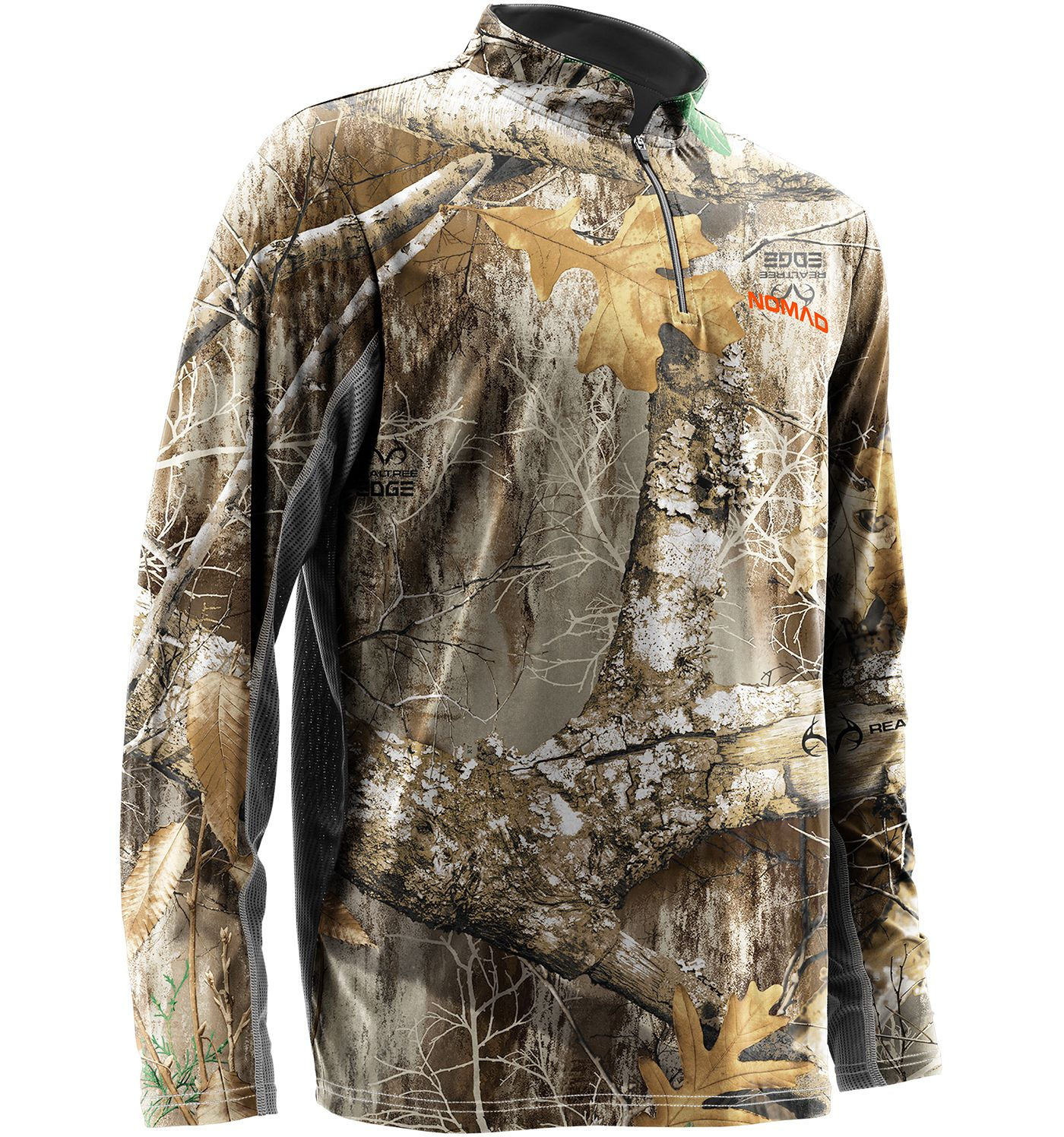 NOMAD Men's Quarter Zip Long Sleeve Hunting Shirt