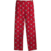 NFL Team Apparel Youth San Francisco 49ers Dorm Red Pants