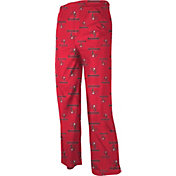 NFL Team Apparel Youth Tampa Bay Buccaneers Jersey Red Print Pants