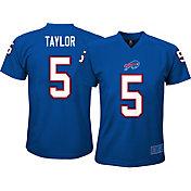 NFL Team Apparel Youth Buffalo Bills Tyrod Taylor #5 Royal T-Shirt