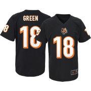 65805ef62 NFL Team Apparel Youth Cincinnati Bengals A.J. Green  18 Black T-Shirt