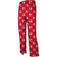NFL Team Apparel Youth Kansas City Chiefs Team Print Red Dorm Jersey Pants