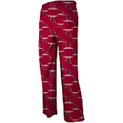 NFL Team Apparel Youth Arizona Cardinals Red Print Jersey Pants