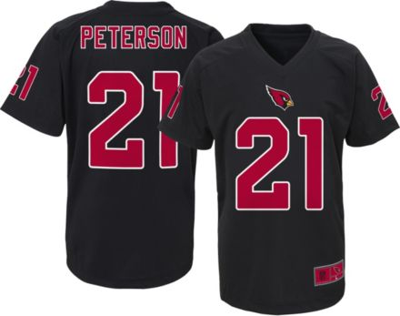 67605976472d NFL Team Apparel Youth Arizona Cardinals Patrick Peterson  21 Black T-Shirt