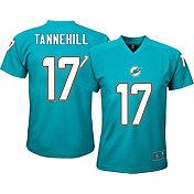 4e582cda49d Product Image · NFL Team Apparel Youth Miami Dolphins Ryan Tannehill  17  Aqua T-Shirt