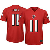 NFL Team Apparel Youth Atlanta Falcons Julio Jones #11 Red T-Shirt