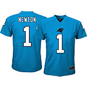 Product Image · NFL Team Apparel Youth Carolina Panthers Cam Newton  1  Performance T-Shirt edb3a85ce