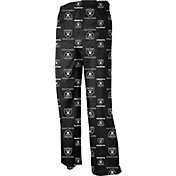 NFL Team Apparel Youth Oakland Raiders Dorm Black Pants