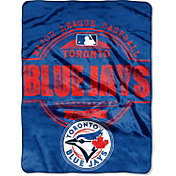 Northwest Toronto Blue Jays Structure Micro Raschel Throw Blanket