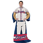 Northwest Atlanta Braves Uniform Full Body Comfy Throw