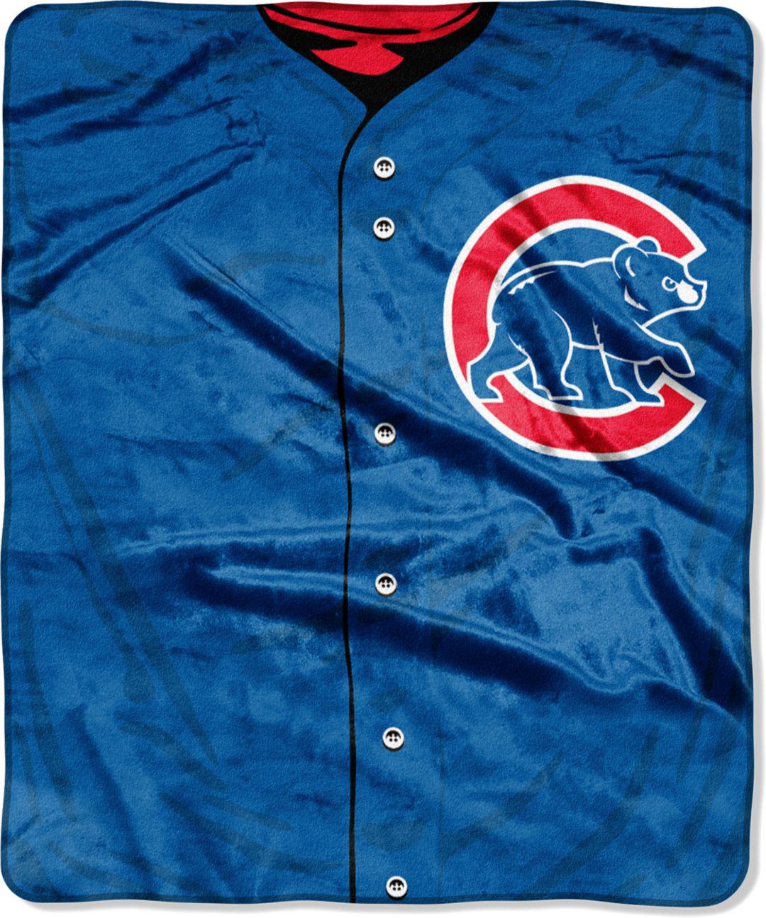 online store 32068 c4a04 Northwest Chicago Cubs Jersey Raschel Throw Blanket
