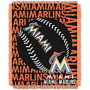 Northwest Miami Marlins Double Play Blanket