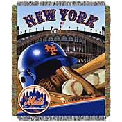Northwest New York Mets Home Field Advantage Blanket
