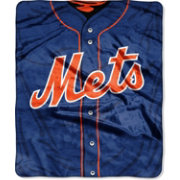 Northwest New York Mets Jersey Raschel Throw Blanket
