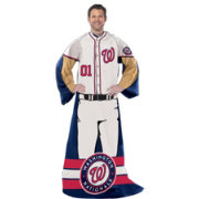 Northwest Washington Nationals Uniform Full Body Comfy Throw