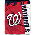 Northwest Washington Nationals Strike Raschel Throw Blanket