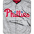 Northwest Philadelphia Phillies Jersey Raschel Throw Blanket