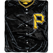 Northwest Pittsburgh Pirates Jersey Raschel Throw Blanket