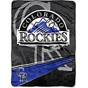 Northwest Colorado Rockies Speed Raschel Throw Blanket