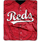 Northwest Cincinnati Reds Jersey Raschel Throw Blanket