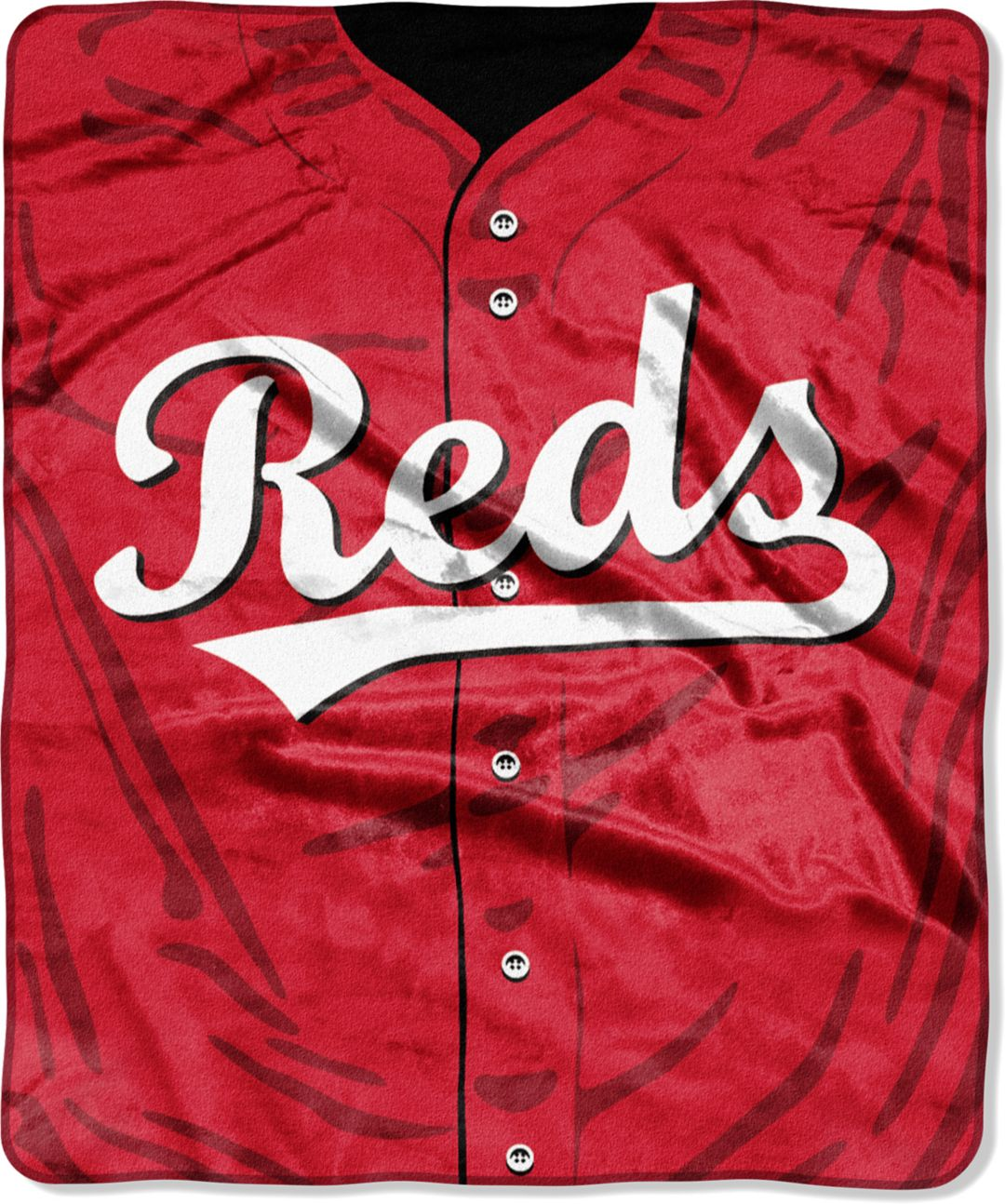 new product dc35b da465 Northwest Cincinnati Reds Jersey Raschel Throw Blanket