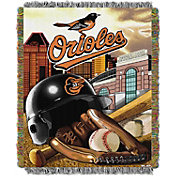 Northwest Baltimore Orioles Home Field Advantage Blanket